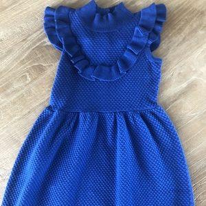 Janie and Jack Size 5 Blue Dress